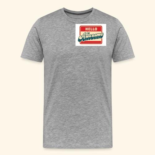 im awesome - Men's Premium T-Shirt