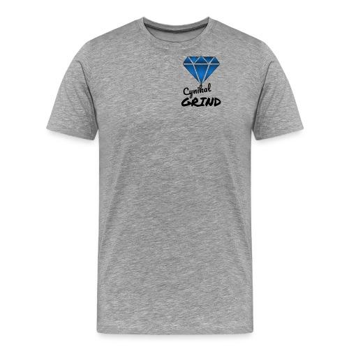 Cynikal Grind logo - Men's Premium T-Shirt