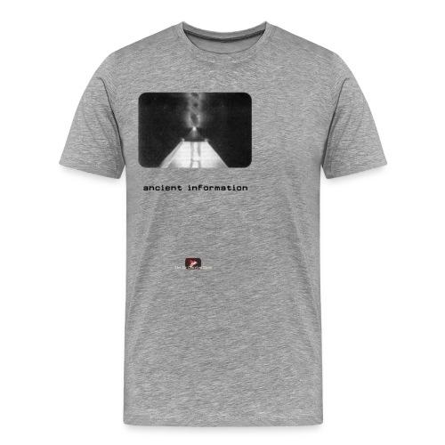 'Ancient Information' - Men's Premium T-Shirt