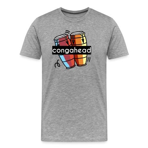 Congahead Logo - Men's Premium T-Shirt