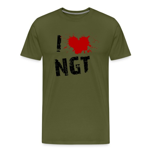 Womens Love NGT - Men's Premium T-Shirt