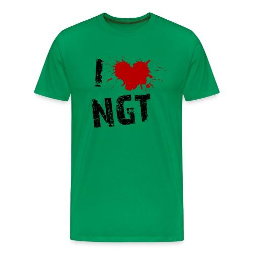 Womens Love NGT - Men's Premium T-Shirt