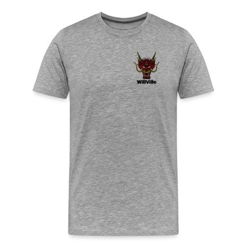 Red Dragon/WillVille - Men's Premium T-Shirt