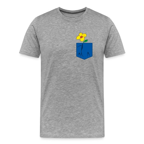 Kiss of spring- pocket - Men's Premium T-Shirt