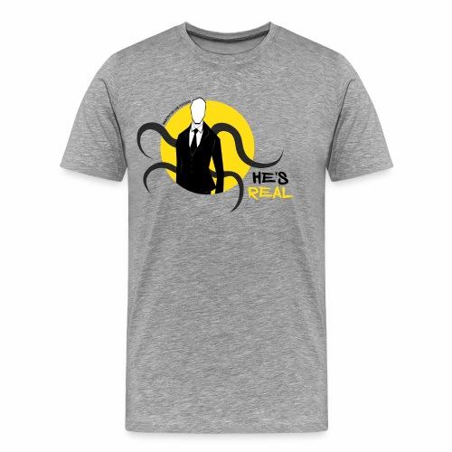 Slender Man is Real - Men's Premium T-Shirt