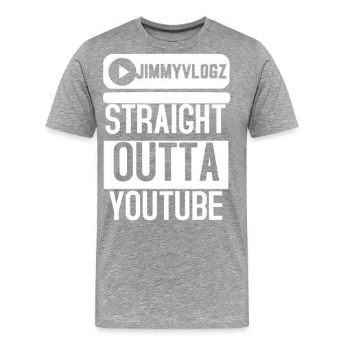 Straight Outta YouTube Merch! - Men's Premium T-Shirt