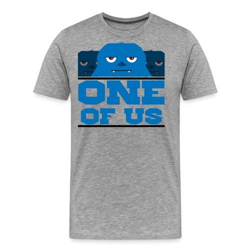 one of us blue png - Men's Premium T-Shirt