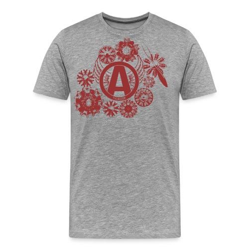 enginesavatardesignred - Men's Premium T-Shirt