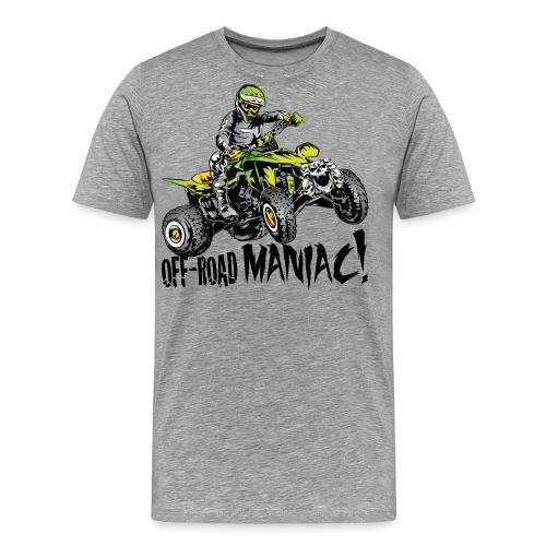 Off-Road Quad Maniac - Men's Premium T-Shirt