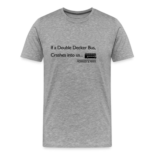 Double Decker Bus - Men's Premium T-Shirt