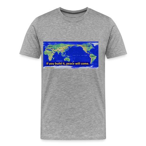 IPTMap IfYouBuildIt - Men's Premium T-Shirt