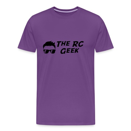 TRCG Logo-2 black - Men's Premium T-Shirt