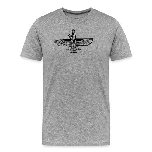 Arya Nima1 Emblem - Men's Premium T-Shirt