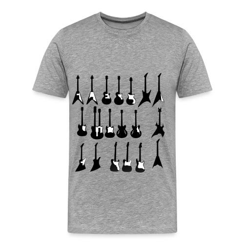 Choose Your Weapon - Guitar - Men's Premium T-Shirt