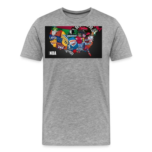 nba all teams - Men's Premium T-Shirt
