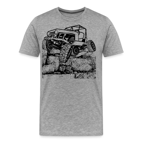 Off Road Rock Crawling - Men's Premium T-Shirt