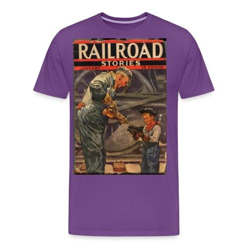 193701smaller - Men's Premium T-Shirt