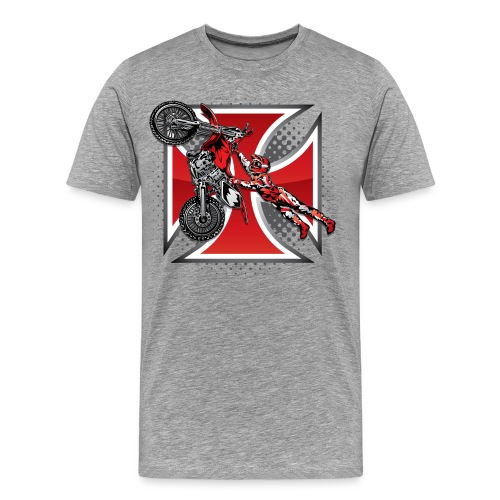 Red Baron Motocross - Men's Premium T-Shirt