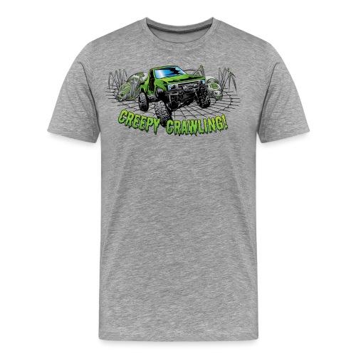 Creepy Truck Crawler blk web - Men's Premium T-Shirt