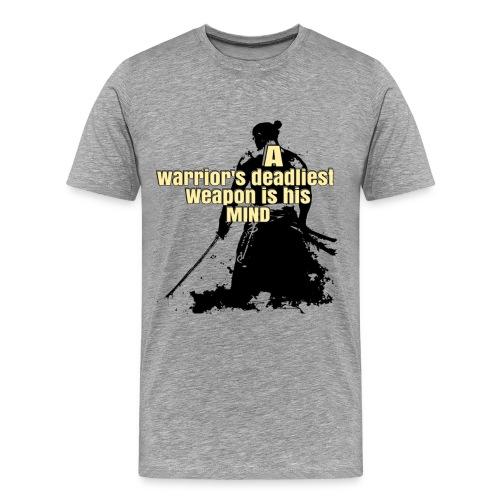 warriors mind - Men's Premium T-Shirt