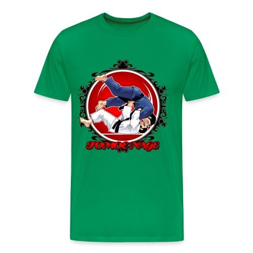Judo Throw Tomoe Nage - Men's Premium T-Shirt