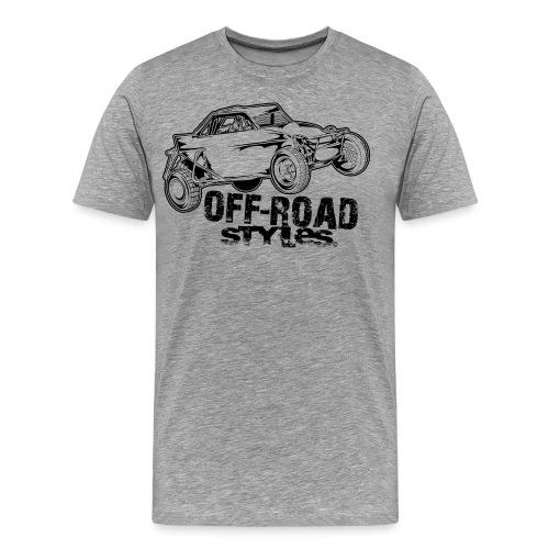 Off Road Race Buggy - Men's Premium T-Shirt