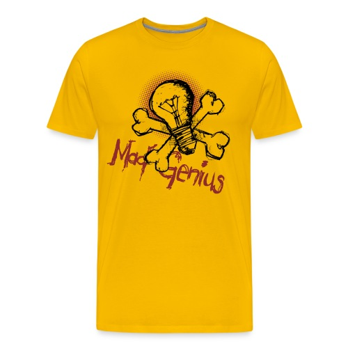 Mad Genius - On Light - Men's Premium T-Shirt