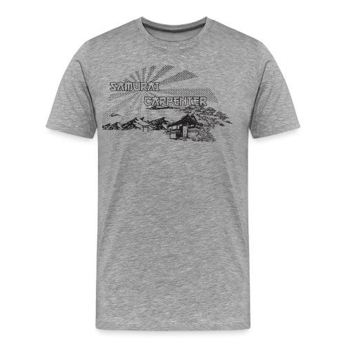 The Samurai Carpenter - Men's Premium T-Shirt