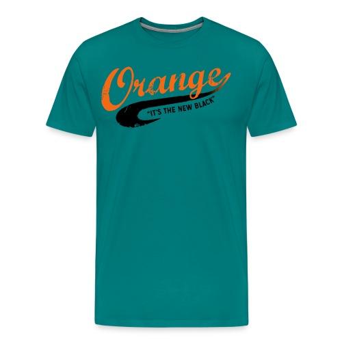 Free Piper Orange is the New Black - Men's Premium T-Shirt