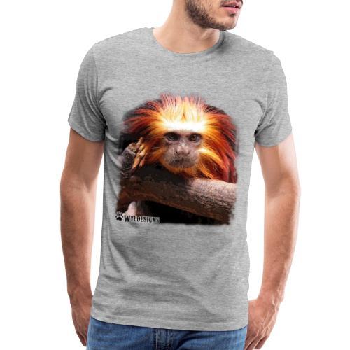 Monkey Cutout - Men's Premium T-Shirt