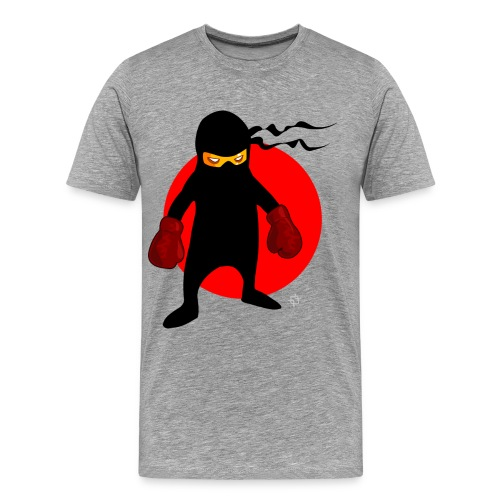 boxer 154200 png - Men's Premium T-Shirt
