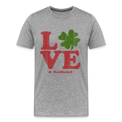Love A Redhead - Men's Premium T-Shirt