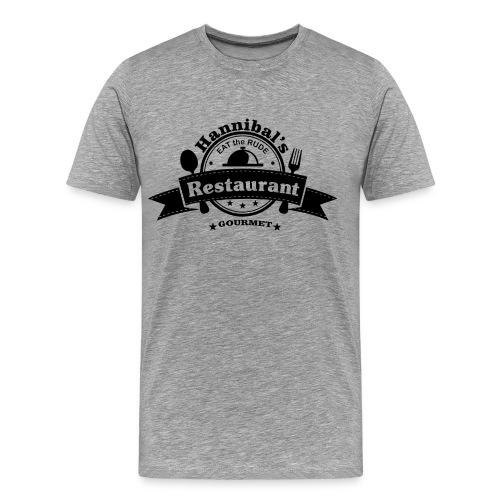 Hannibal-Eat the Rude - Men's Premium T-Shirt