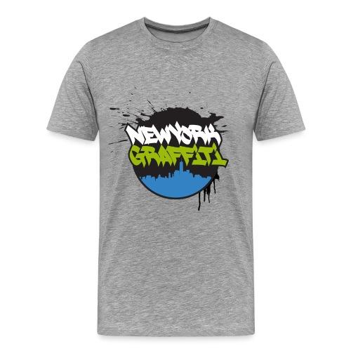 VERS - NYG Logo Design - Men's Premium T-Shirt