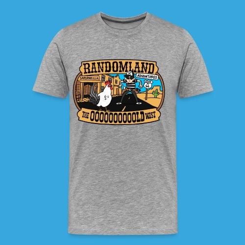 The OOOOOLD west - Men's Premium T-Shirt