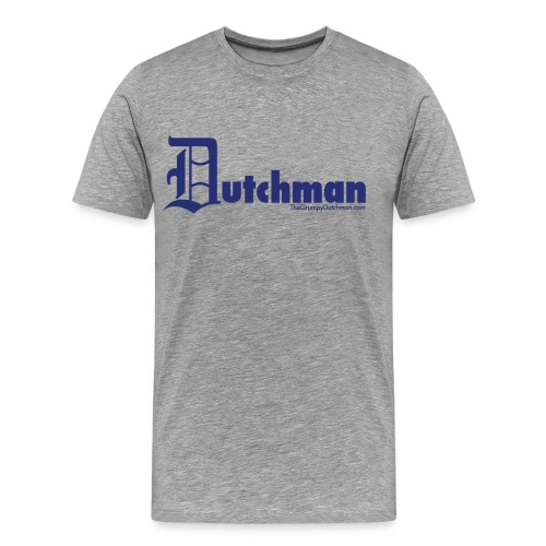 10 final dutchman d blue - Men's Premium T-Shirt