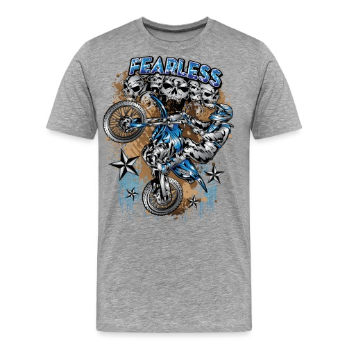 Fearless Motocross Yamaha - Men's Premium T-Shirt