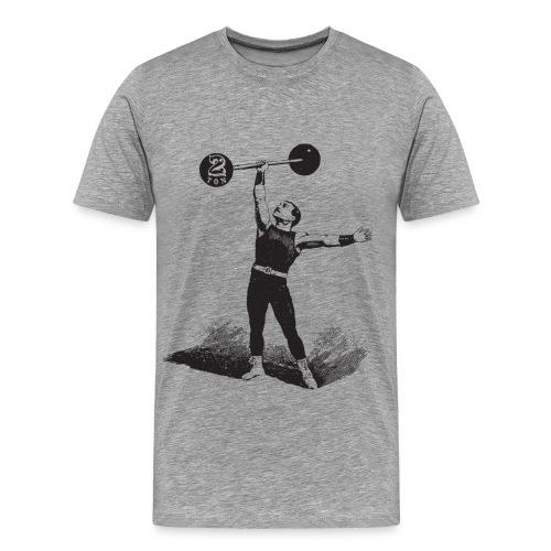 Women's 2Ton Sideshow Strongman Shirt - Men's Premium T-Shirt