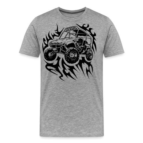 Fired Up UTV - Men's Premium T-Shirt