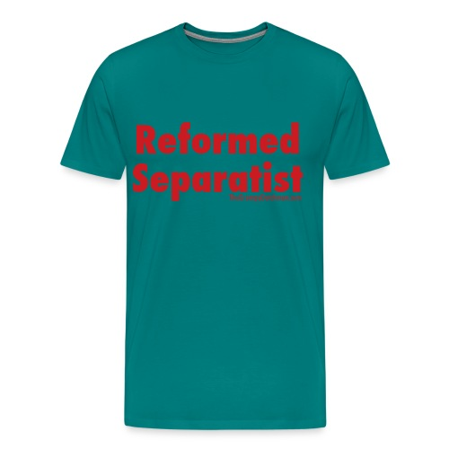 34 Separatist red lettering - Men's Premium T-Shirt