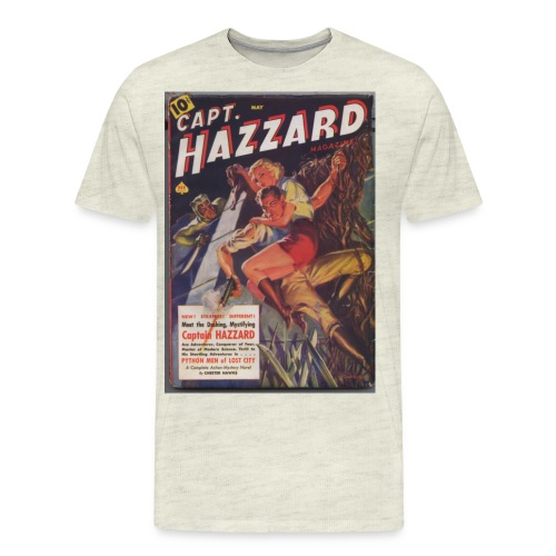 capthazzardsmaller - Men's Premium T-Shirt