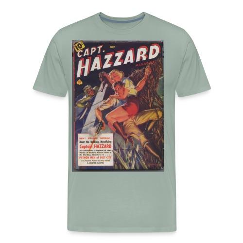 capthazzardsmaller - Men's Premium T-Shirt