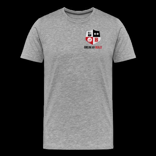 Break To Build Crest & Text - Men's Premium T-Shirt