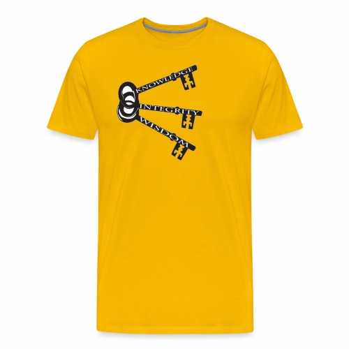 KEYS TO LIFE - Men's Premium T-Shirt