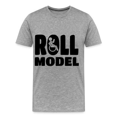 Wheelchair Roll model - Men's Premium T-Shirt