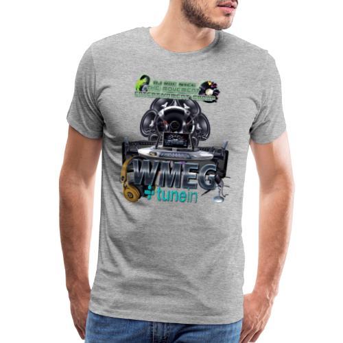 WMEG internet Radio logo - Men's Premium T-Shirt