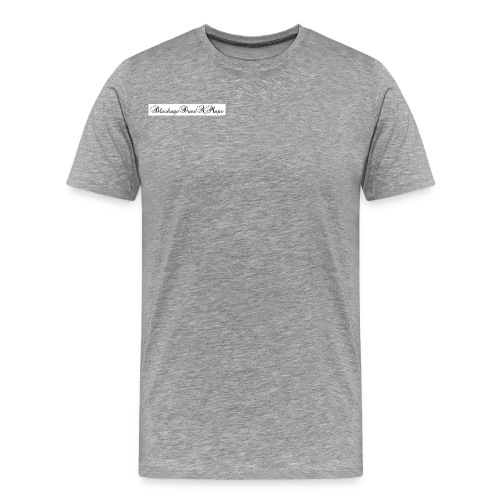 Fancy BlockageDoesAMaps - Men's Premium T-Shirt