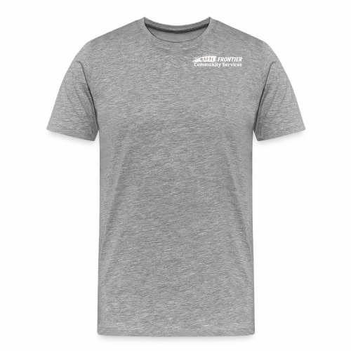 White Logo for Dark Colors - Men's Premium T-Shirt