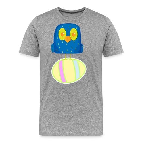 Hatching Easter Eggs, Hatching Plan, Funny Easter - Men's Premium T-Shirt