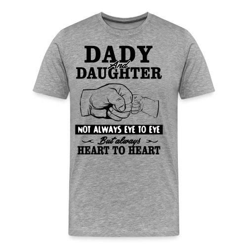Dady and Daughter - Men's Premium T-Shirt